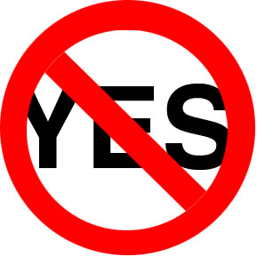 Say No to Yes!